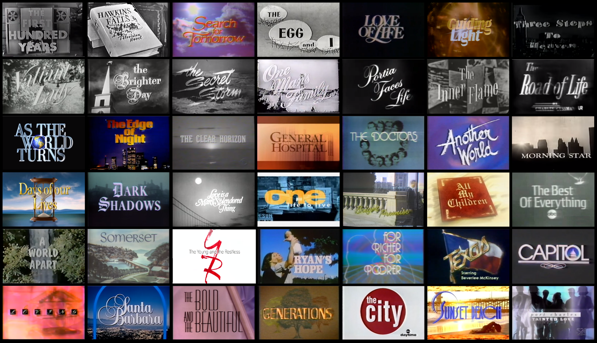 A Little Bit of Soap: From Daytime To Beyond